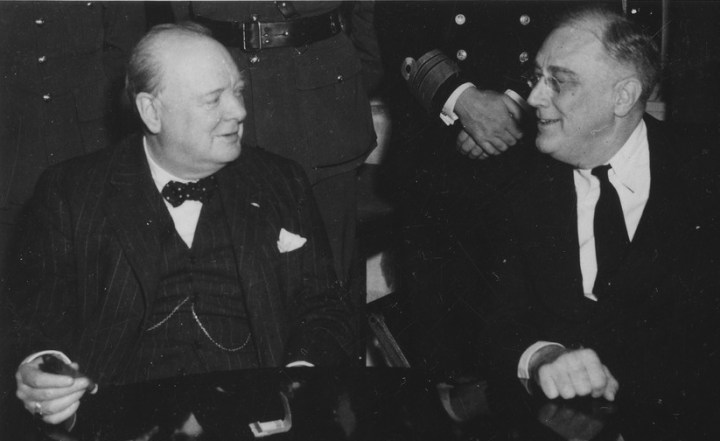 Churchill et Roosevelt