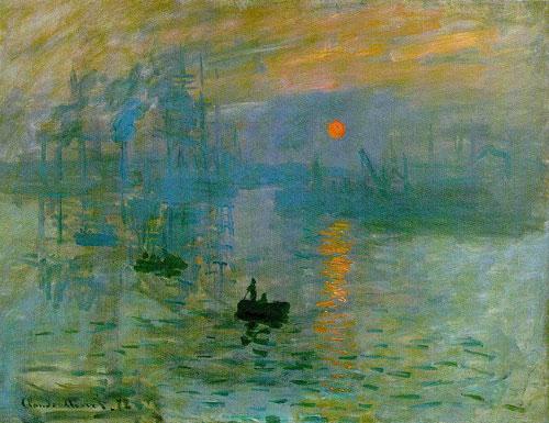 Impression, soleil levant par Claude Monet (1872)