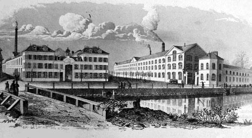 Ateliers de construction et de fonderie à Louviers