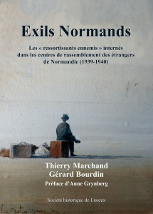 couverture Exils normands.