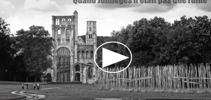 Lire la vidéo sur l'abbaye de Jumièges