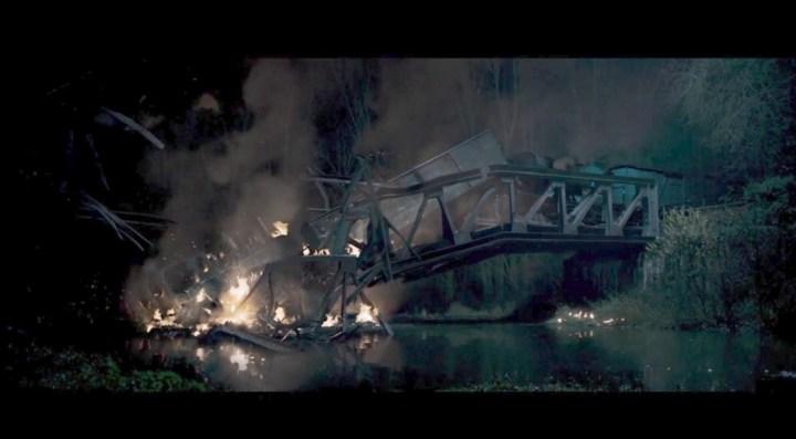 Sabotage d'un pont