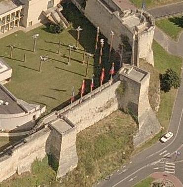 Remparts du château de Caen