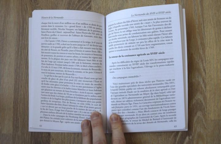 intérieur du livre