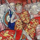 Guillaume le conquérant conduisant son armée
