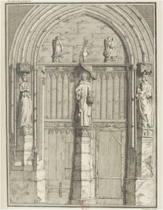 ortail de l'église des Célestins
