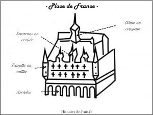 Facade place de France
