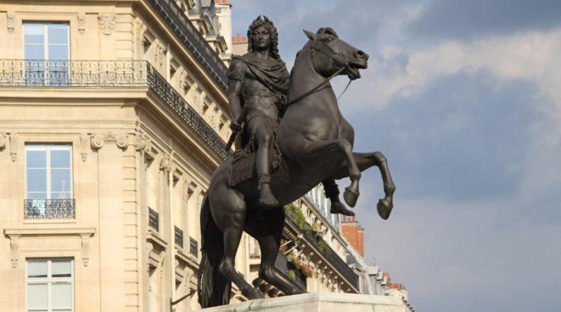 Statue de Louis XIV place des Victoires