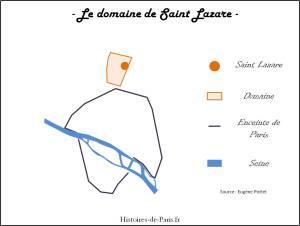 Domaine de la léproserie Saint Lazare