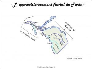 approvisionnement fluvial de Paris