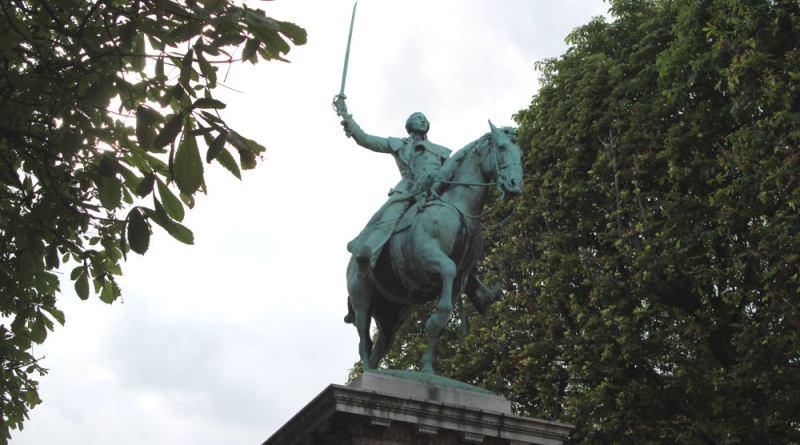 Statue de La Fayette