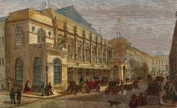 L'opéra le Peletier en 1865