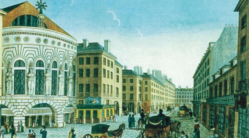 Théatre Feydeau par Courvoisier et Dubois