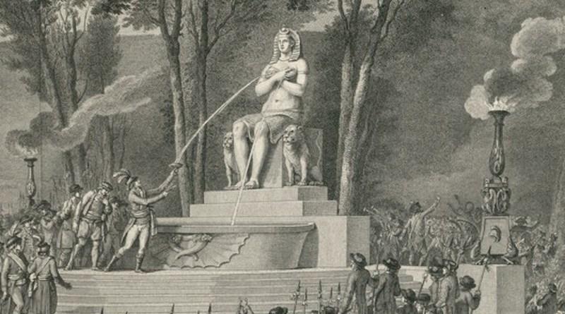 Fontaine de la régénération par Monnet