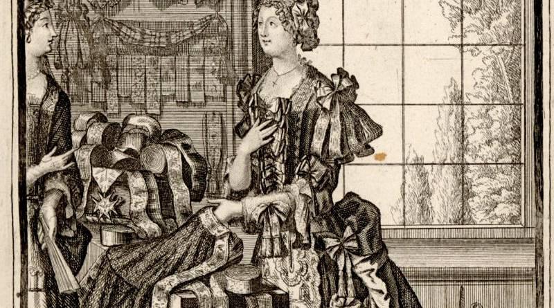 Ouvriers en drap d'or - La Rubanière par Nicolas de Larmessin