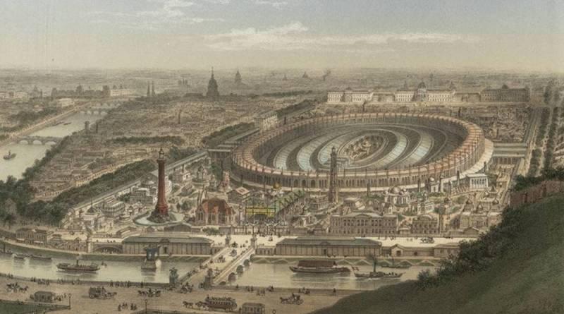 Exposition universelle de Paris 1867 vue générale