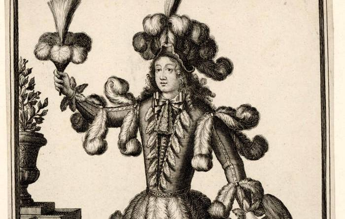 habits de plumassières par N de L'Armessin