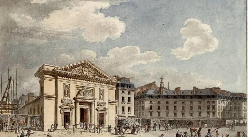 Église Saint-Barthélémy dessin Antoine Meunier