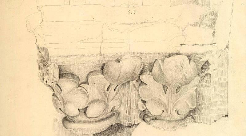 Chapiteaux de l'église Saint Pierre aux Boeufs par Jean Baptiste Lassus