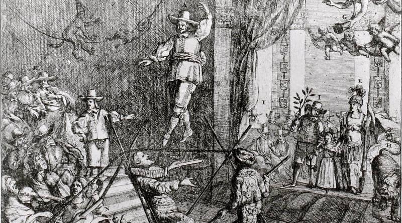 les danseurs de Corde par Cromwell