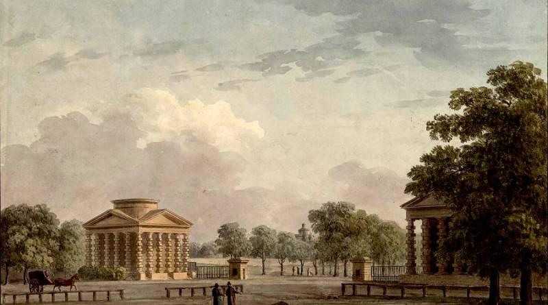 Barrière de l'Etoile ou des Champs Elysées par J Palaiseau