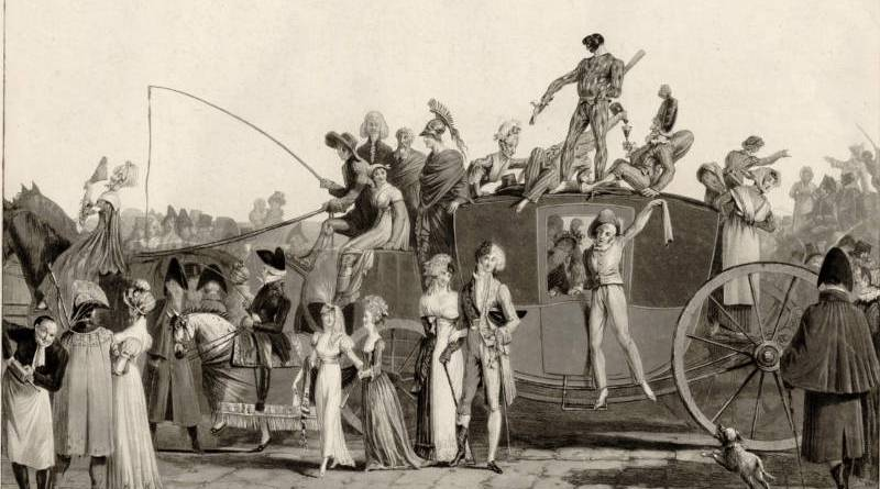 Le Carnaval par Philibert Louis Debucourt en 1810
