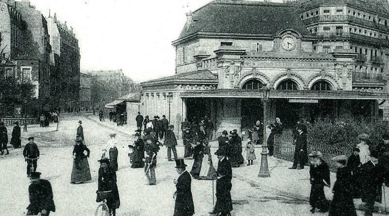 Gare de Neuilly Porte Maillot