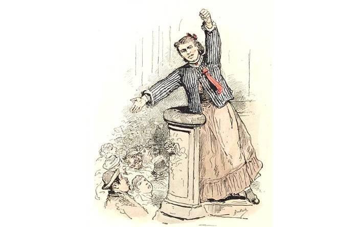 Les Communeux de 1871 Types, caractères, costumes par Bertall