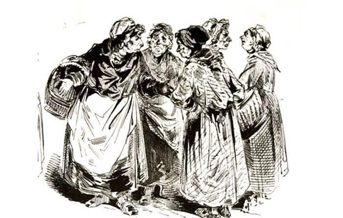 club des cusinières de 1848 par Gustave Doré