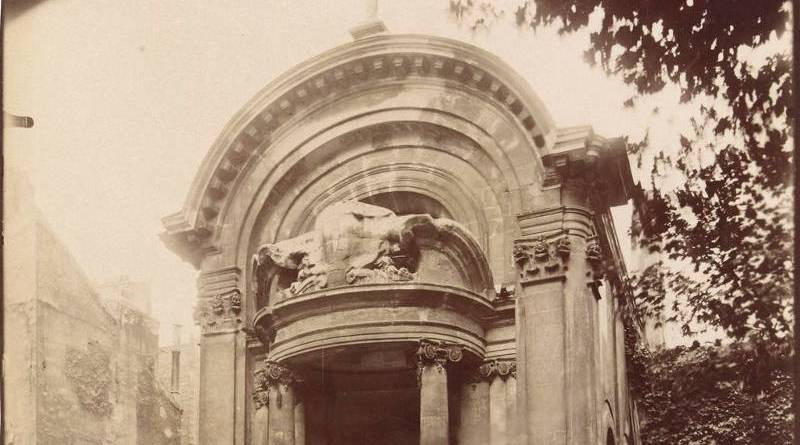 Porte du Collège des Lombards par Eugène Atget