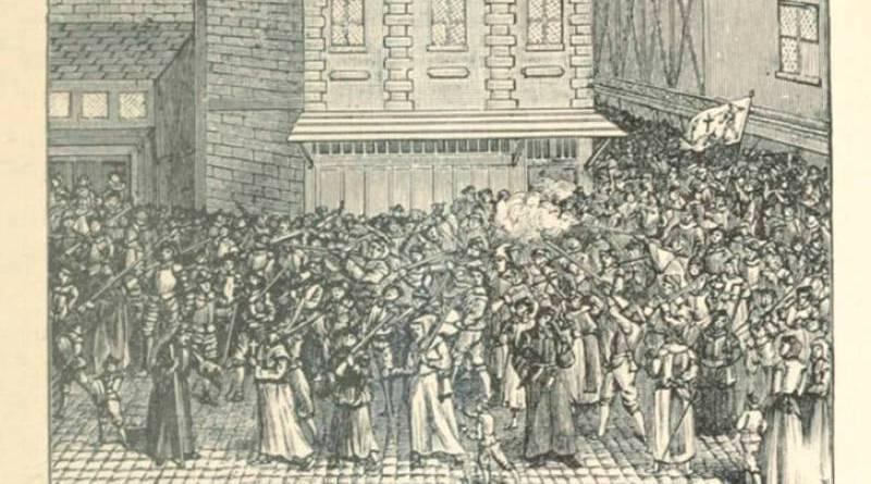 procession de la ligue