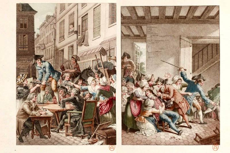 illustration de la pipe cassée de Jean Joseph Vadé 2e série