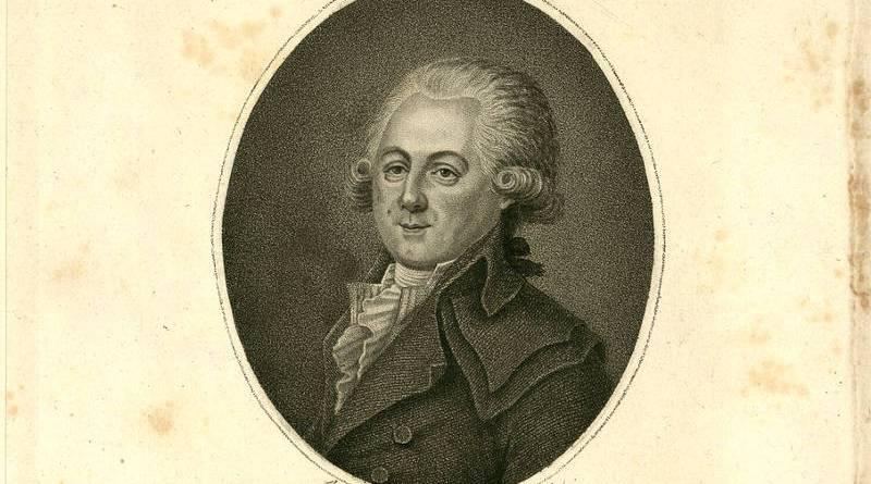 Louis Sébastien Mercier Gravure de Francois Bonneville en 1797