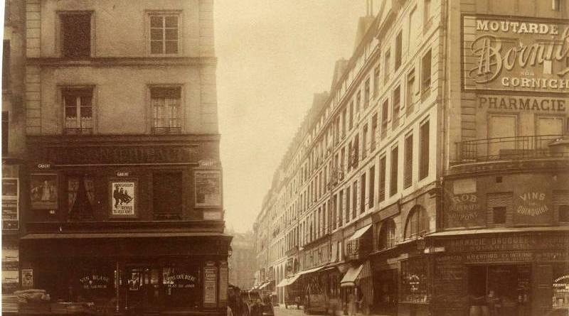 Rue de la Ferronnerie par Eugène Atget en 1907