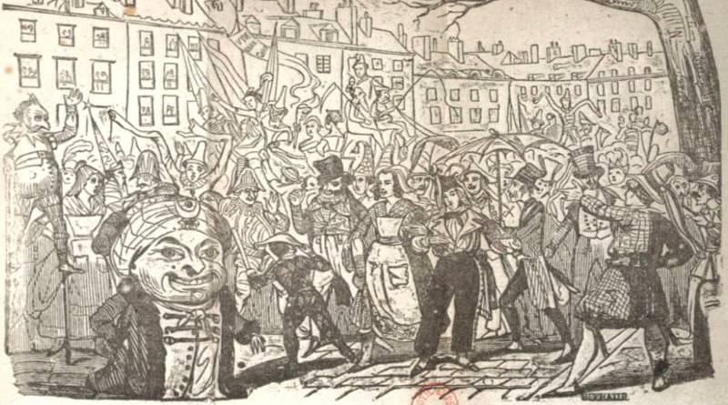 carnaval de paris issus de la trompette du Carnaval