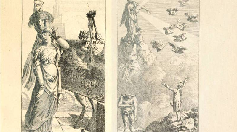 illustration de Dunker pour le tableau de Paris