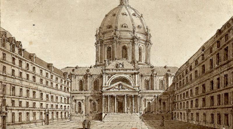 La cour du Collège de la Sorbonne par Christophe Civeton