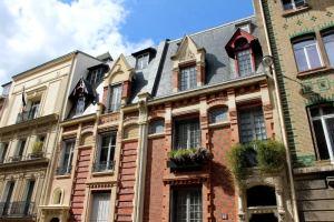hôtel particulier réalisé par Georges Louis Bayard du 18 rue Eugène Flachat