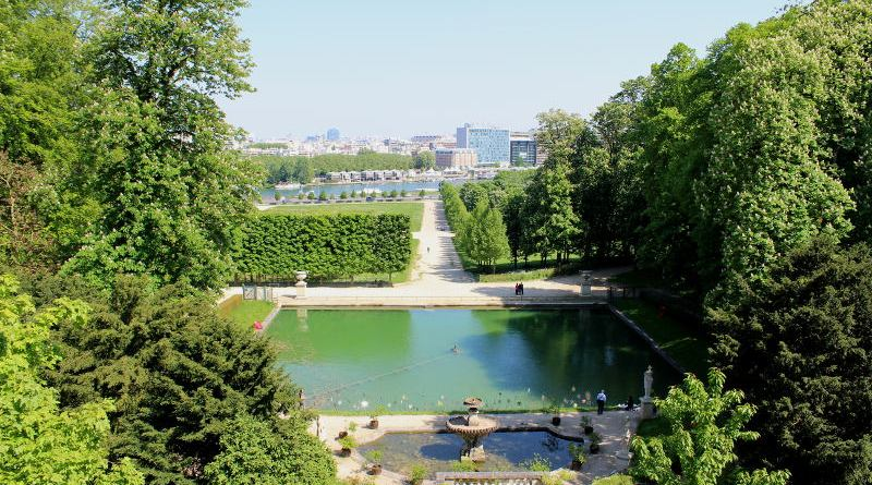 le bassin du grand jet de Saint Cloud