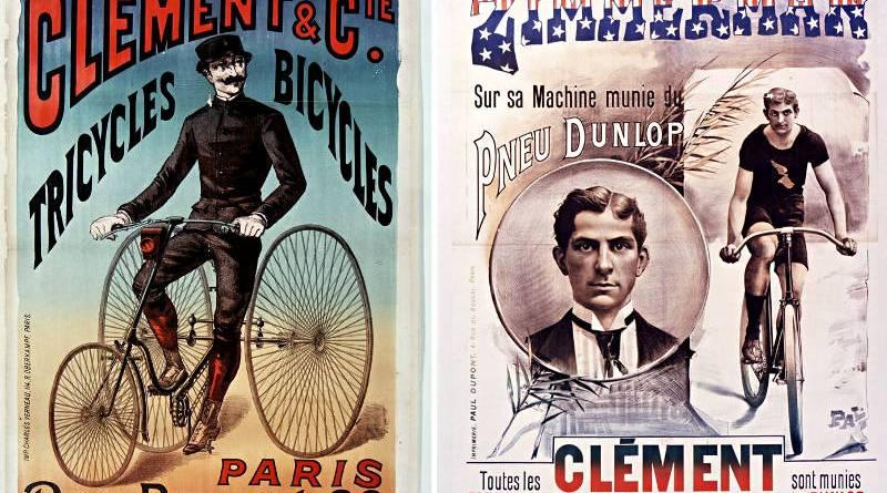 affiches publicités Cycles Clément des années 1890