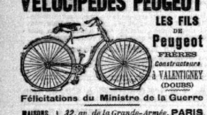 les vélos Peugeot