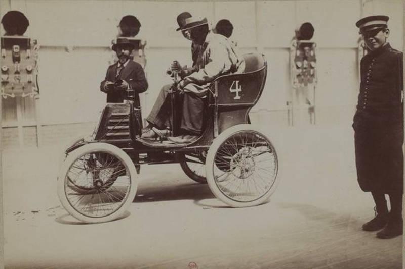 voiturette G Richard extrait des photographies Jules Beau 1899 1900