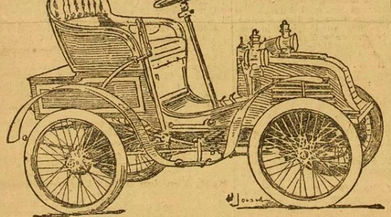 voiturette Peugeot publicité dans Auto du 3 juin 1902