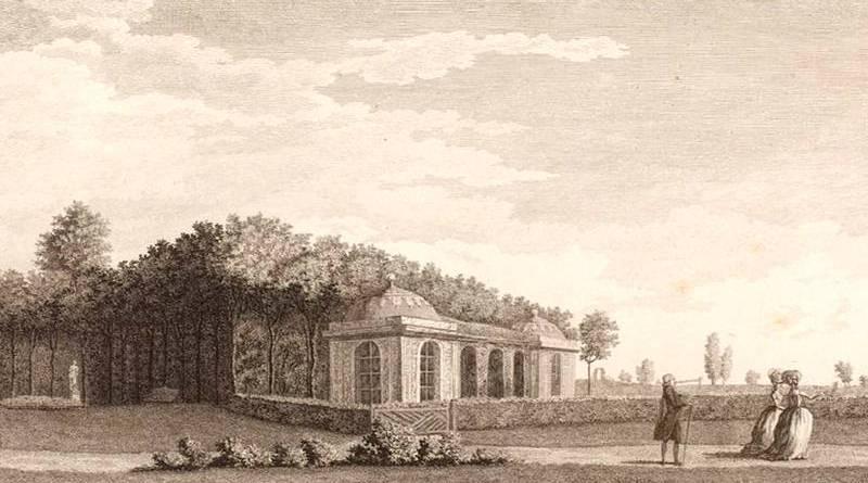 pavillons francais du jardin du duc de Chartres