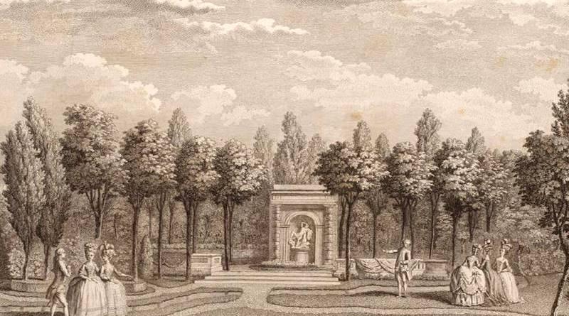 salle des marronniers du jardin du duc de Chartres
