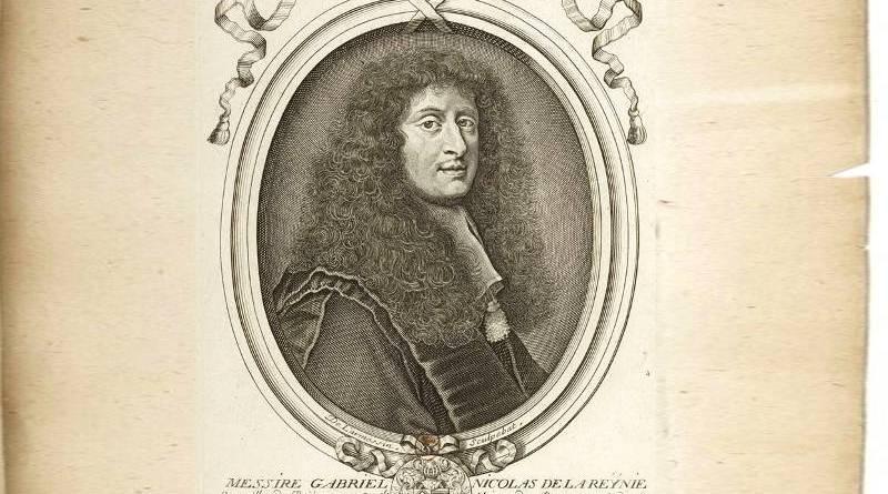 gabriel nicolas de la Reynie par Nicolas de Larmessin