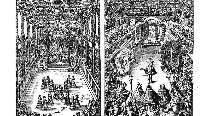 les premiers ballets de la Renaissance a Paris
