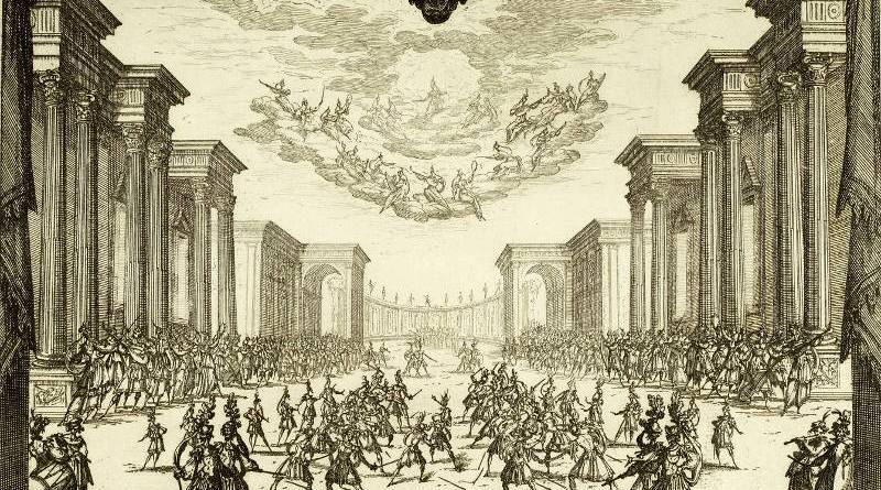 Troisième intermède par Jacques Callot en 1616
