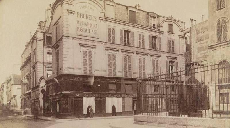 ancien hôtel de Turmeny, rue Charlot - photo par Eugene Atget