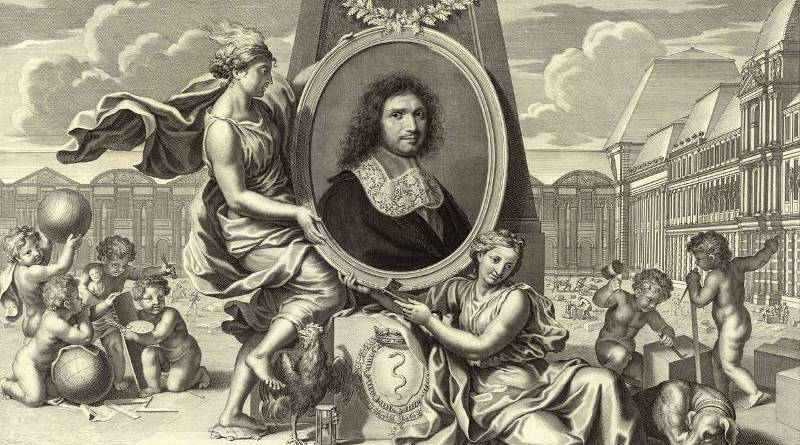 Esquisse de Colbert par Charles Le Brun